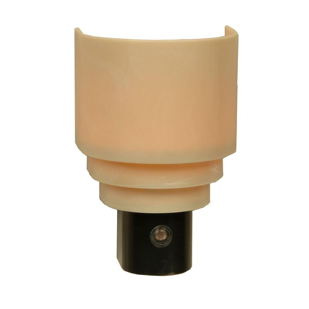 Amerelle Tiered Sconce Automatic Incandescent Night Light