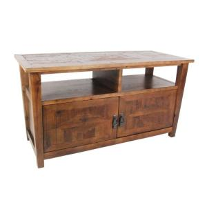 Revive Reclaimed Natural Oak Storage Entertainment Center