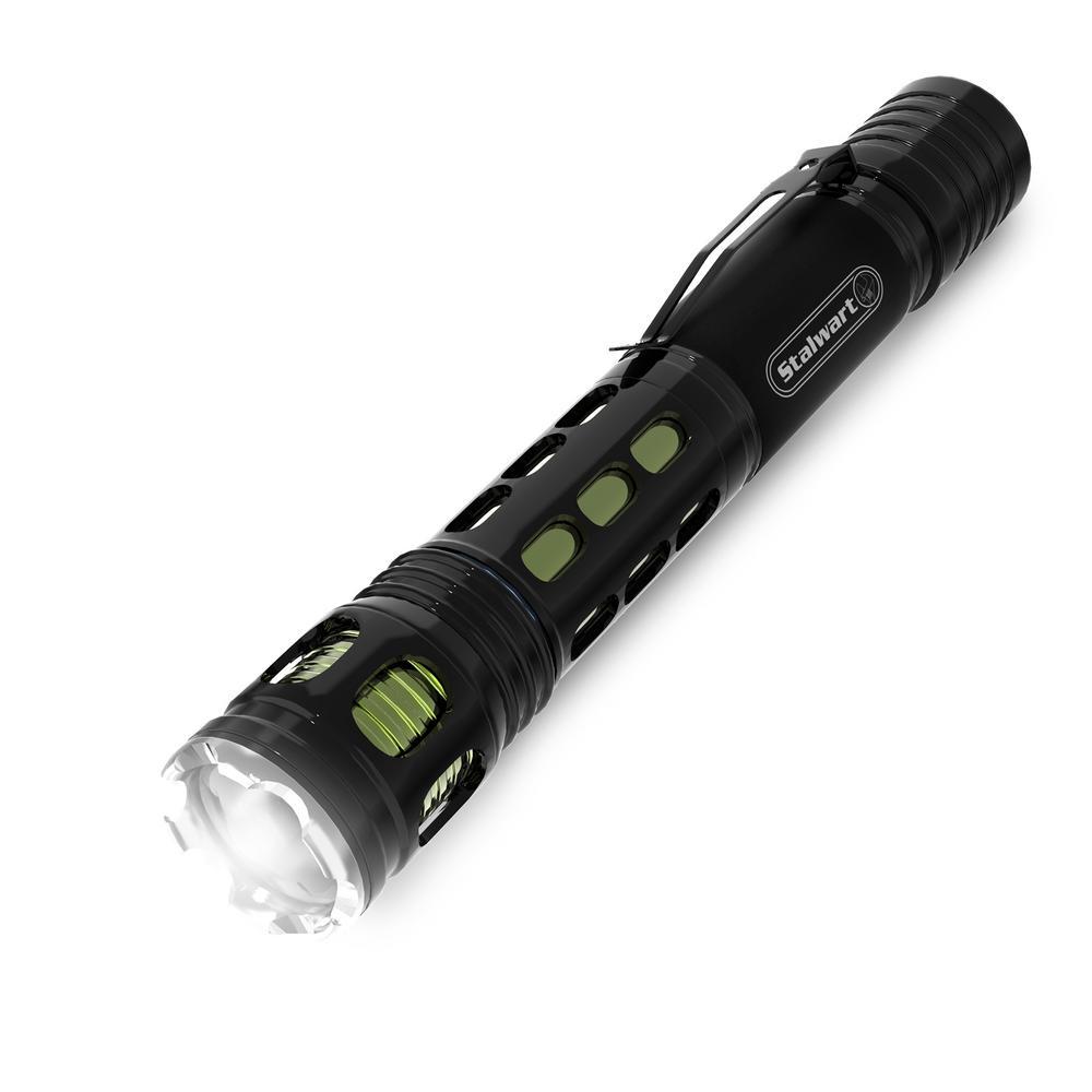 120 Lumens Handheld Aluminum LED Flashlight in Green