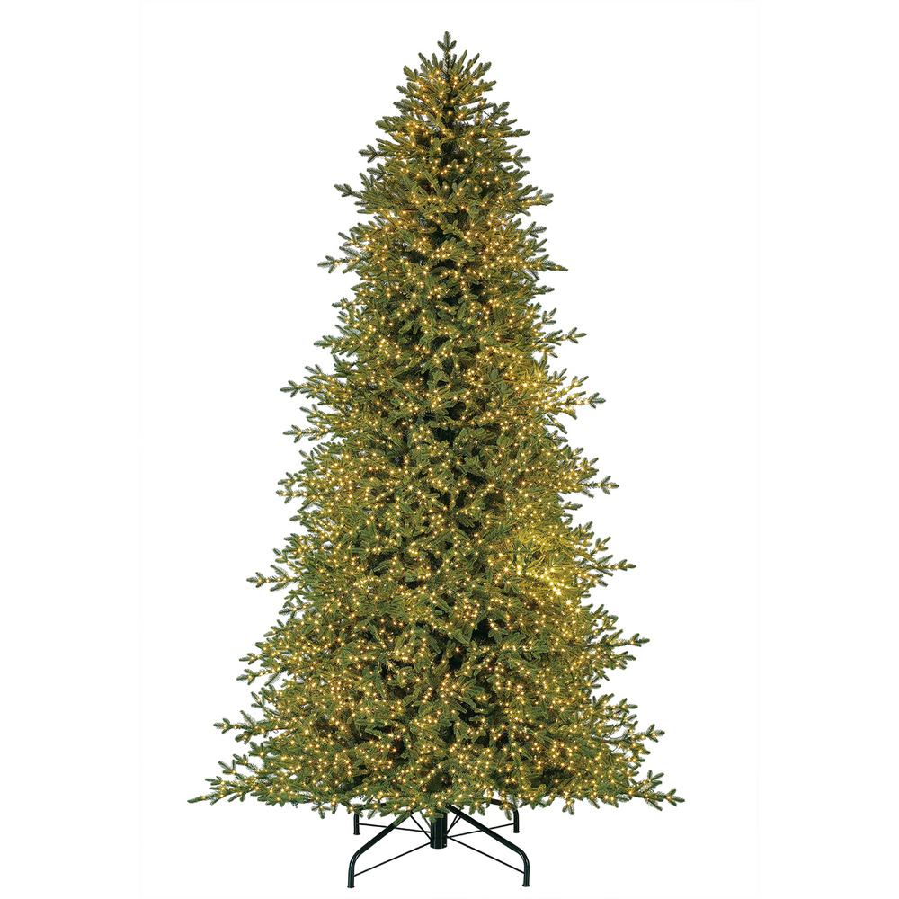 Home Decorators Collection 9 Ft Pre Lit Led Majestic Brilliance Fir Artificial Christmas Tree With 7000 Warm White Fairy Lights