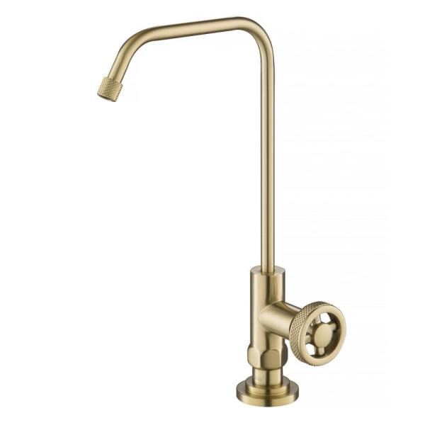 Urbix Kitchen Water Filter Faucet in Brushed Gold