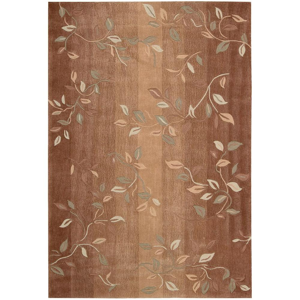 Contour Cinnamon 8 ft. x 10 ft. 6 in. Area Rug