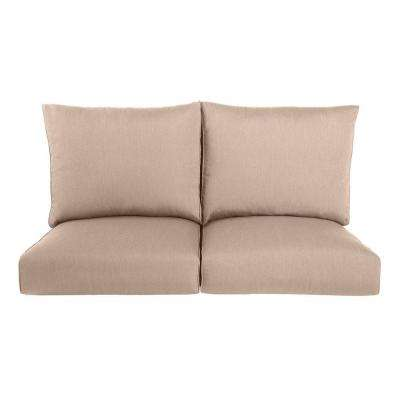 Highland Replacement Outdoor Loveseat Cushion in Sparrow