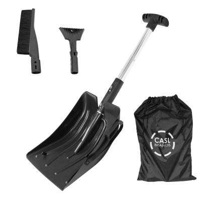 Snow Removal Kit for Cars and Trucks with Scraper, Shovel and Brush