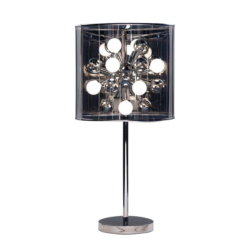 Adesso Starburst 28 1/2 In. Chrome Table Lamp