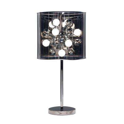 Starburst 28-1/2 in. Chrome Table Lamp