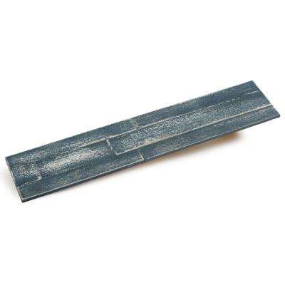 3/8 in. x 4-7/8 in. x 23-5/8 in. Blue Ocean Prefinished Wood Peel and Press Wall Panel
