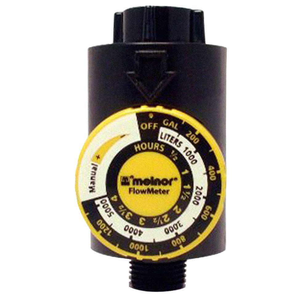 Flow Meter with Shut-off