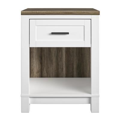 Fall River White Nightstand