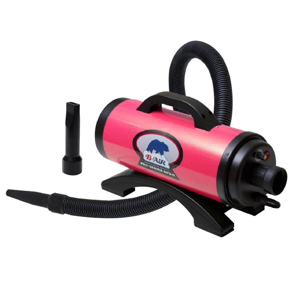 Bear Pro HP High Velocity Pet Groomer Dog Dryer in Hot Pink