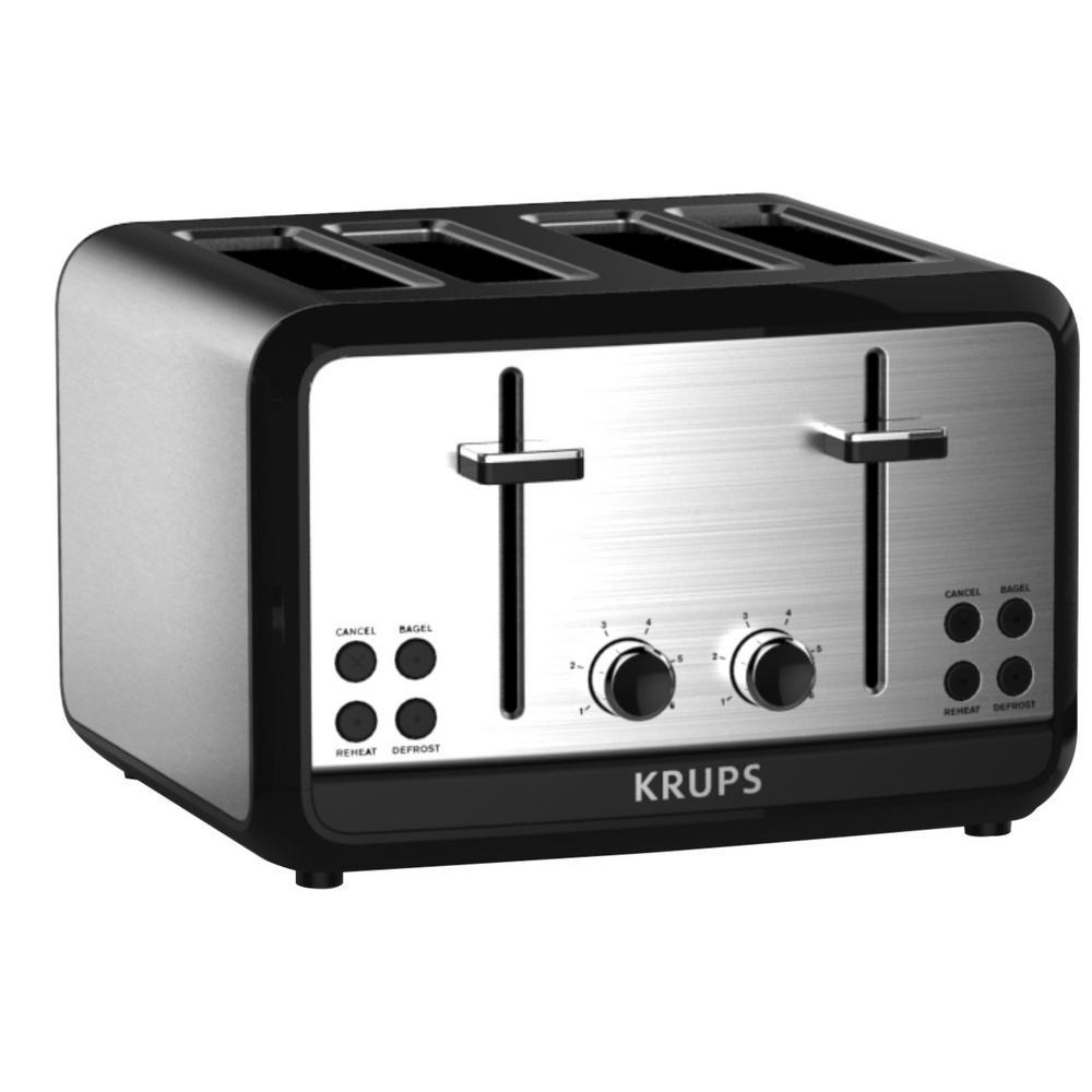 Savoy 4-Slice Stainless Toaster