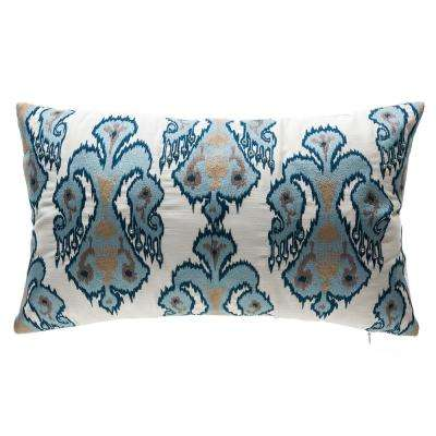 Shinto Lattice Square Outdoor Throw Pillow