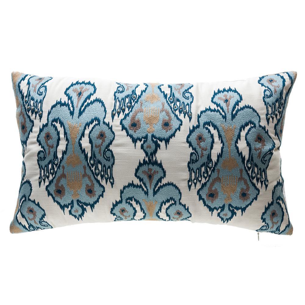 Shinto Lattice Square Outdoor Throw Pillow
