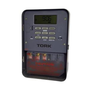 TORK 15-Amp 120 VAC Astronomical Area Code Entry Digital Timer by TORK