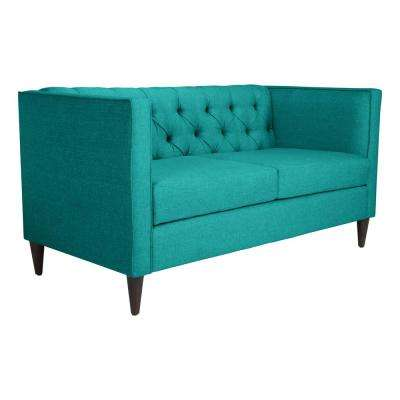Grant Teal Loveseat
