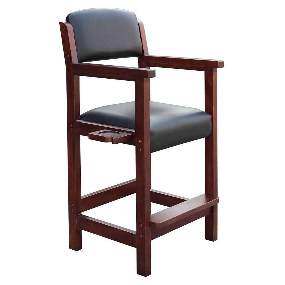 Hathaway Cambridge Rich Mahogany Spectator Chair