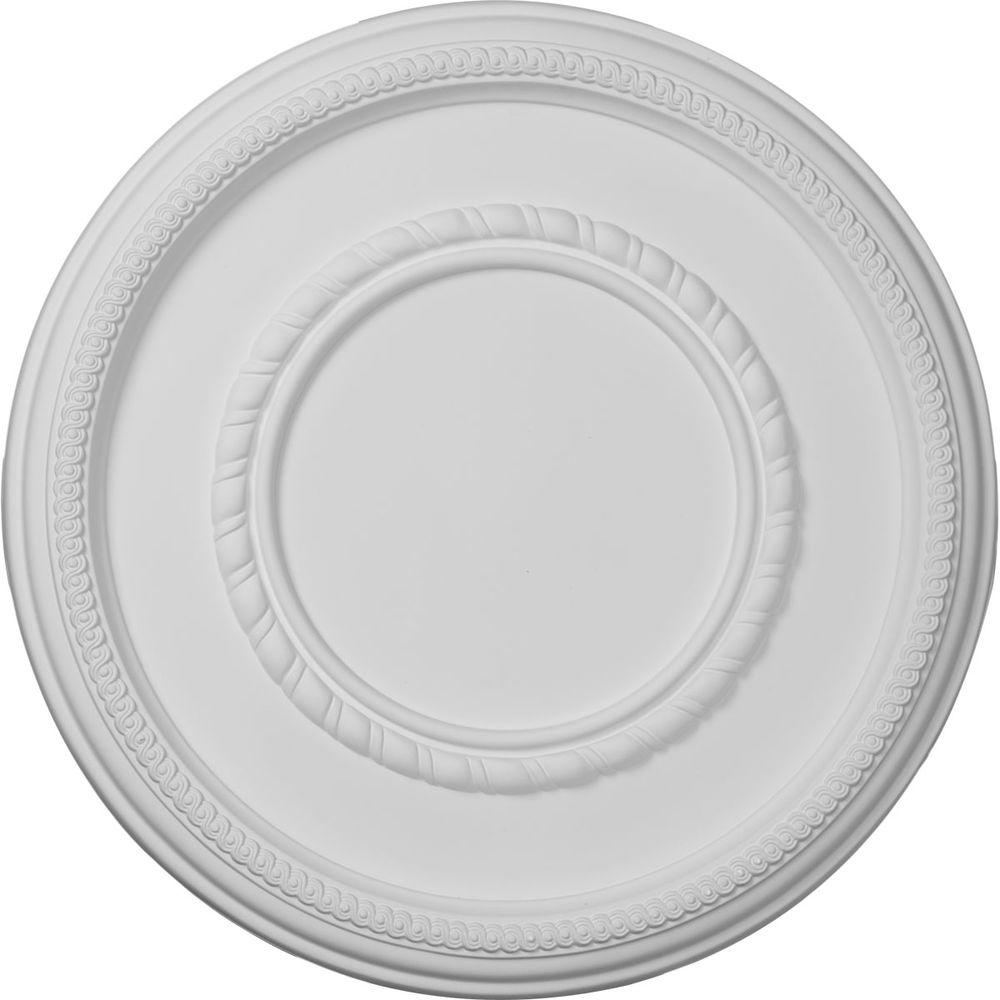 17-3/8 in. Federal Roped Large Ceiling Medallion