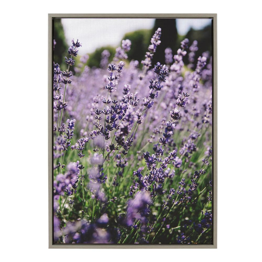 Sylvie ''Sunday Afternoon'' by Patricia Rae Framed Canvas Wall Art