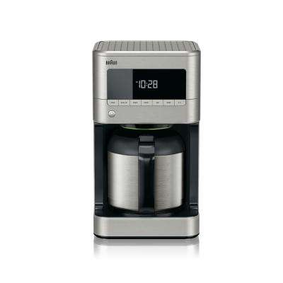 Brew Sense 10-Cup Stainless Steel Drip Coffee Maker with Thermal Carafe