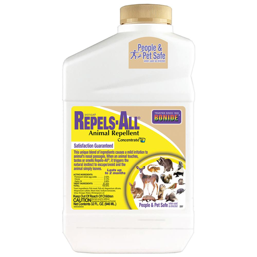 Bonide 32 Oz Repels All Animal Repellent Concentrate 237 The Home Depot