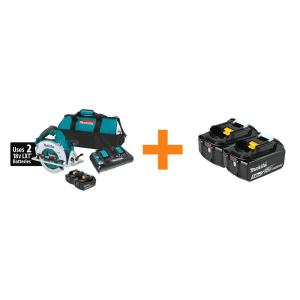 Deals on Makita 18V X2 LXT Brushless Cordless 7-1/4-in Circular Saw Kit
