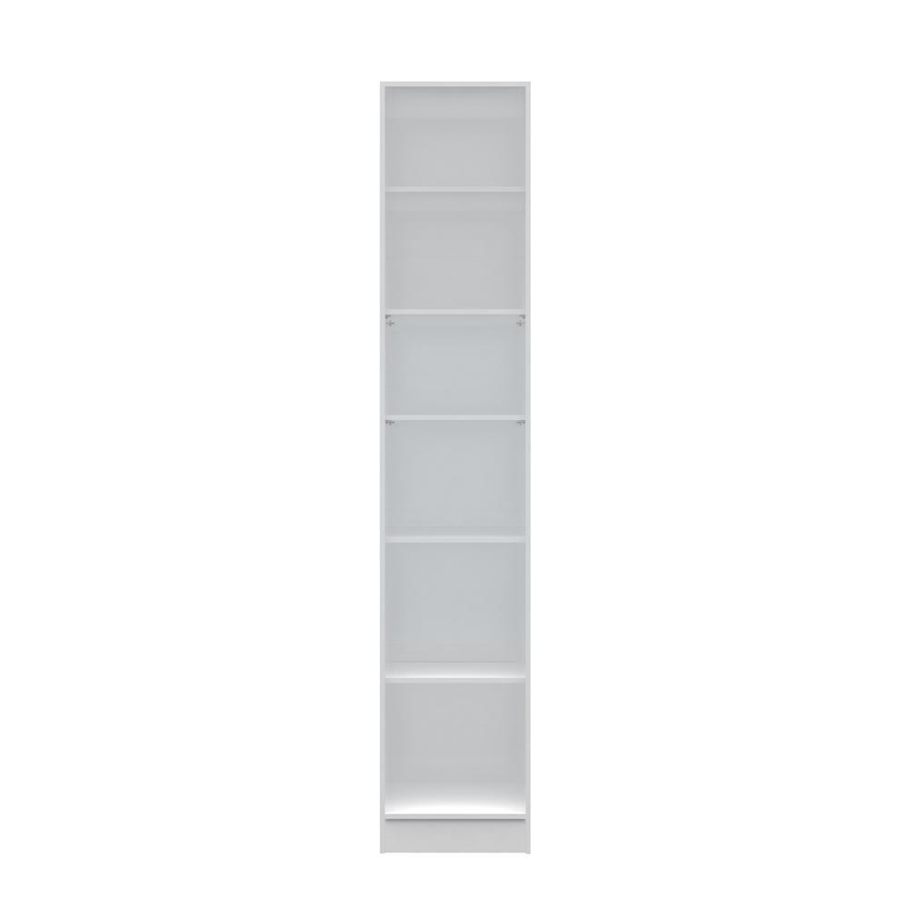 Chelsea 1.0- 17.71 in. W White 6-Shelf Closet