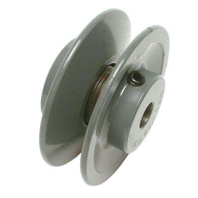 4-1/8 in. x 1/2 in. Evaporative Cooler Motor Pulley