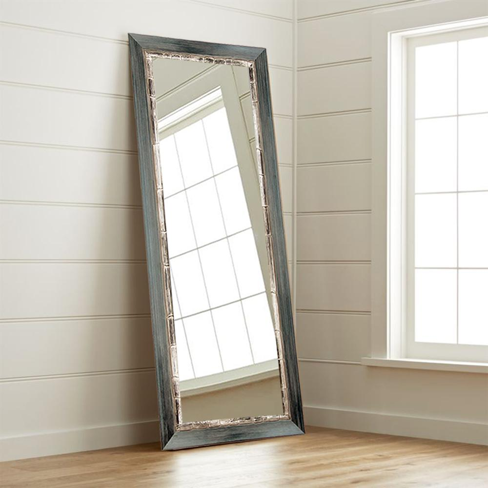 full length wall mirror Weathered Harbor Full Length Wall Mirror BM21THIN   The Home Depot full length wall mirror