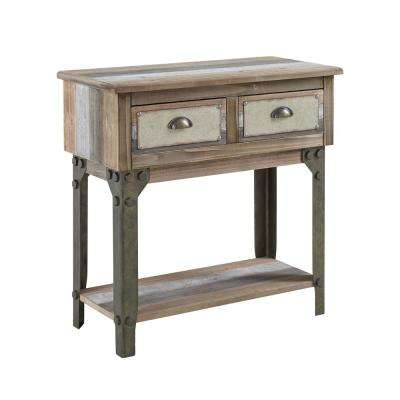 Willoughby Distressed Small Console