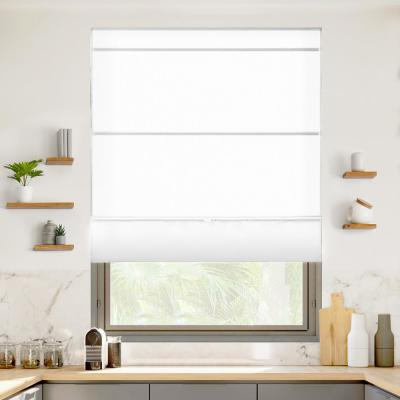 Chicology Roman Shades Shades The Home Depot