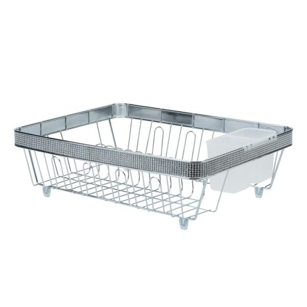 Kitchen Details Drying Rack in Pave Diamond Design 22899-CHR