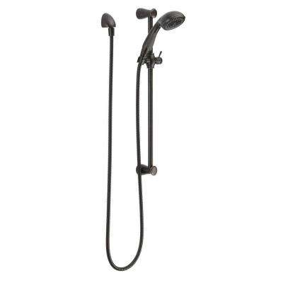 3-Spray Slide Bar Hand Shower in Venetian Bronze