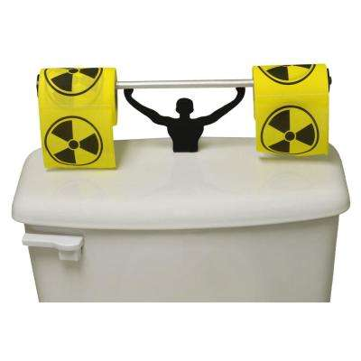 Toxic Hazardous Toilet Paper in Multi-Color with Strong Man Holder Gift Set