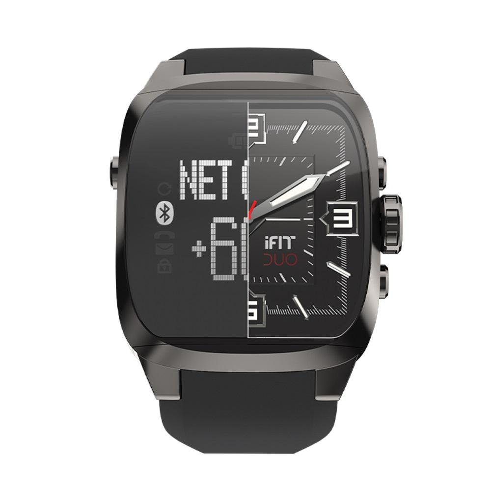 DUO Men's Square Fitness Watch