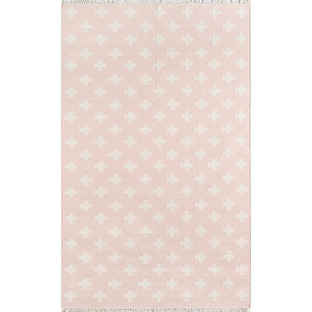 Novogratz by Momeni Topanga Lucille Pink 7 ft. 6 in. x 9 ft. 6in. Indoor Area Rug