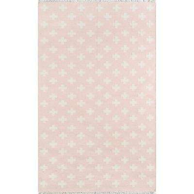 Topanga Lucille Pink 7 ft. 6 in. X 9 ft. 6in. Indoor Area Rug