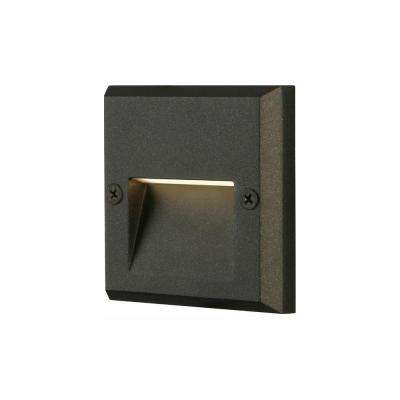 Black Integrated LED Deck Light
