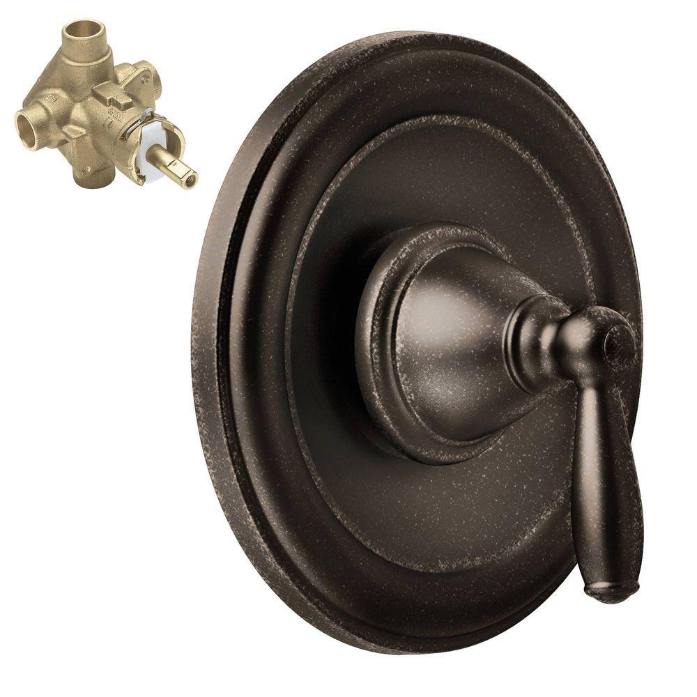 Brantford Single-Handle Posi-Temp Trim Kit in Oil Rubbed Bronze (Valve Included)