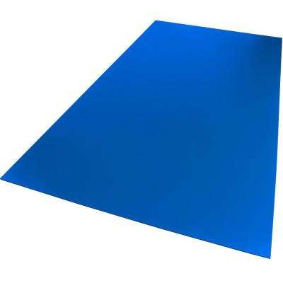 24 in. x 24 in. x 0.118 in. Foam PVC Blue Sheet