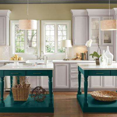 Artisan Custom Kitchen Cabinets Shown in Transitional Style