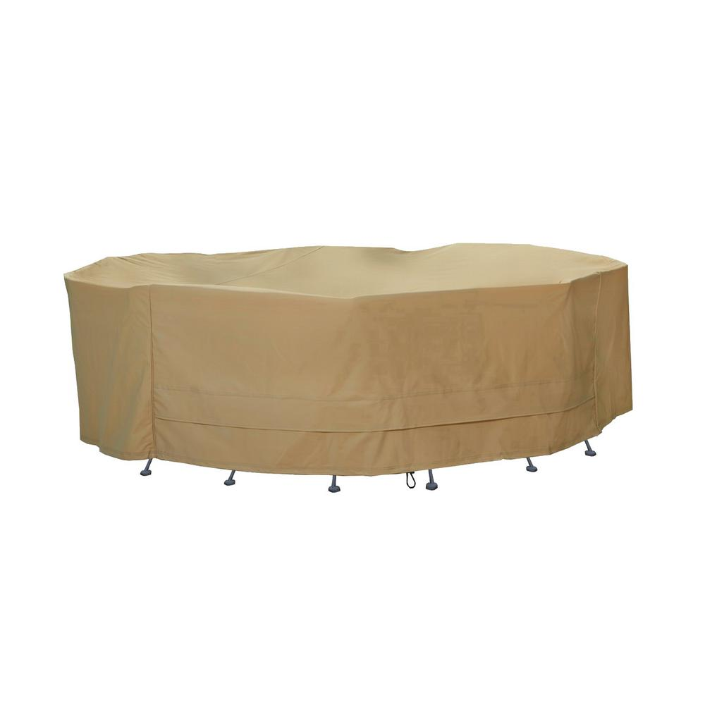 Large Round Table And Chair Set Cover
