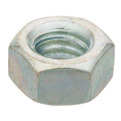 3/8 in.-16 tpi Zinc-Plated Hex Nut (100-Piece per Box)