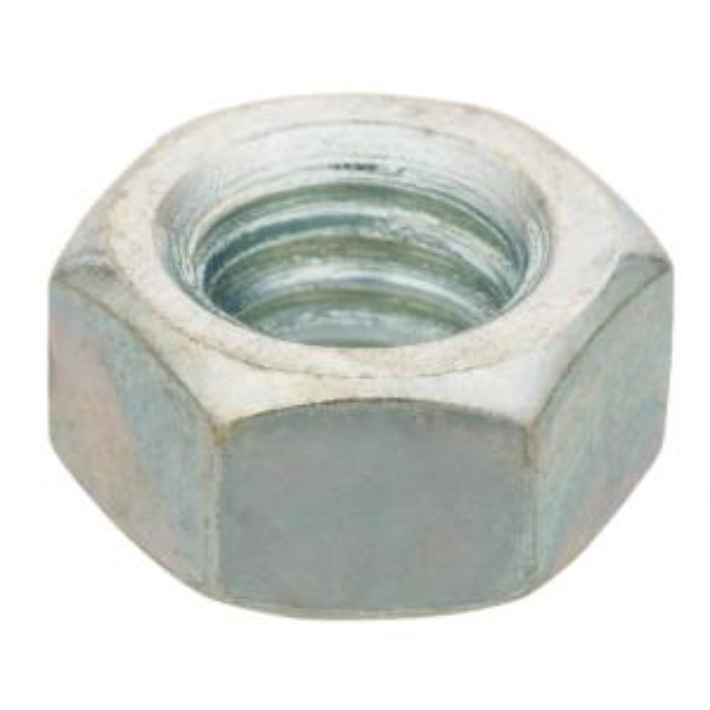 1/4 in.-20 tpi Zinc-Plated Hex Nut (100-Piece per Pack)