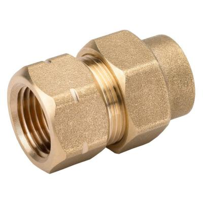 1/2 in. CSST x 1/2 in. FIPT Brass Female Adapter