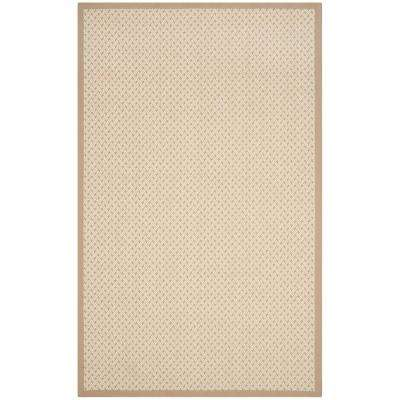 Natural Fiber Ivory/Beige 8 ft. x 10 ft. Area Rug