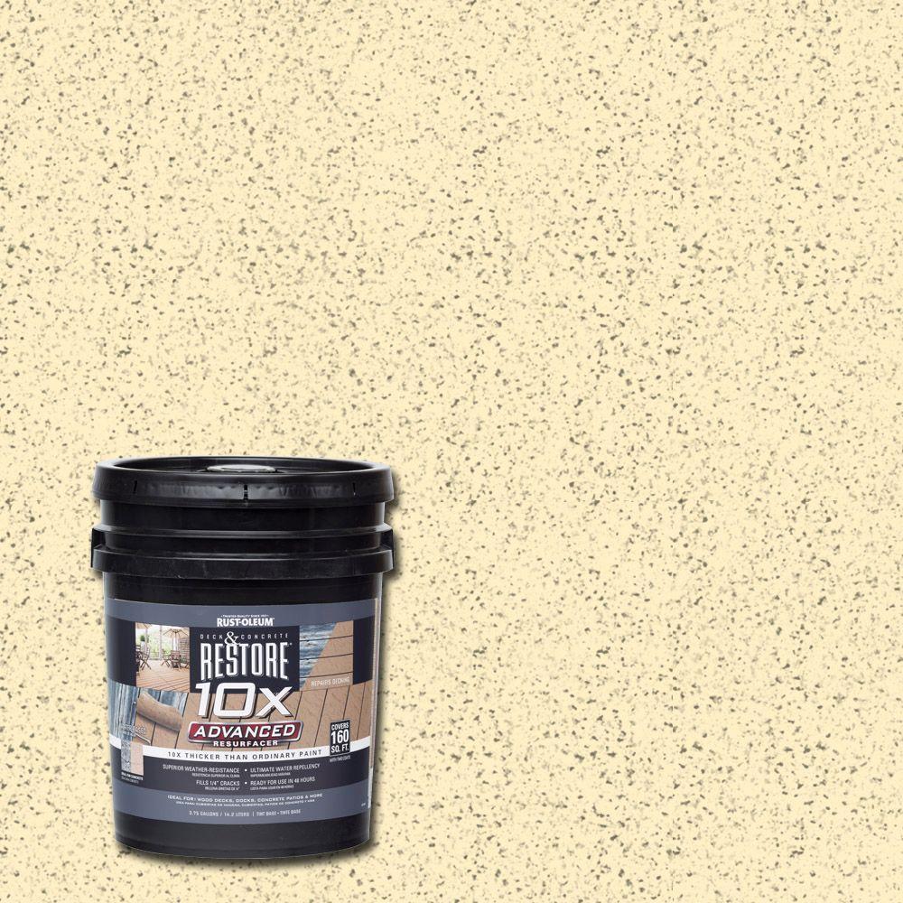 4 gal. 10X Advanced Parchment Deck and Concrete Resurfacer