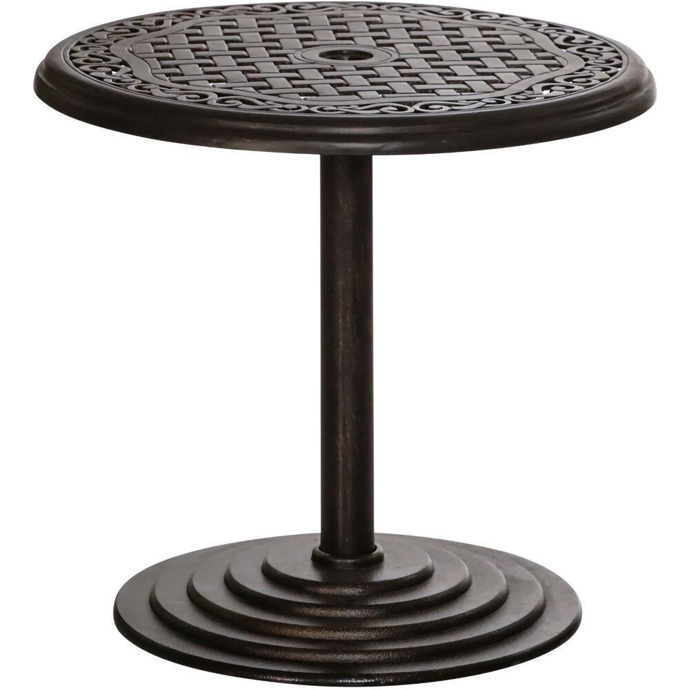 Umbrella Hole Outdoor Side Tables
