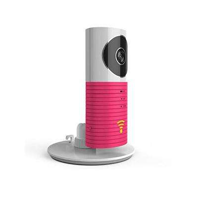 Mini Wi-Fi Camera with Night Vision and Motion Sensor, Pink