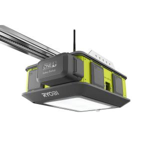RYOBI Ultra-Quiet 2 HP Belt Drive Garage Door Opener with Battery Backup Capability-GD201 - The Home Depot
