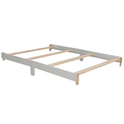 Universal Silver Pearl Full Size Bed Rail (1-Pack)